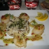 Coquilles Saint-Jacques (but where's the shell and mash?!)