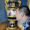 Interesting vase