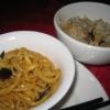Noodles and Sticky Rice