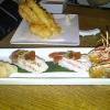 Prawn Tempura and Santa Barbara Shrimp with Ponzu Jelly