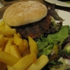 Crab, Lobster and Beef Burger