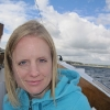 On the boat back to Tenby