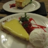 Cheesecake and Lemon Torte